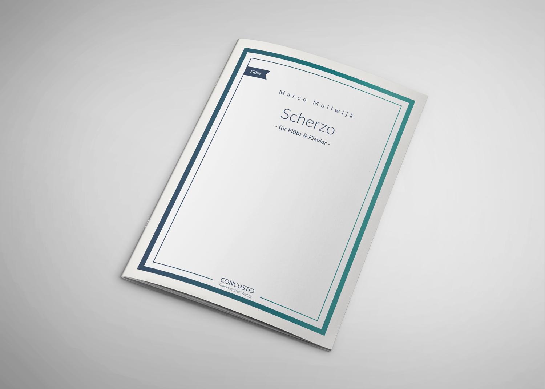 009 Scherzo für Flöte und Klavier